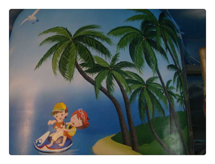 手绘墙-儿童游乐场
